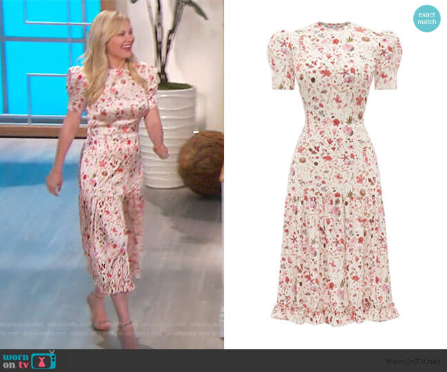 The Hummingbird Dress by The Vampire's Wife worn by Kirsten Dunst on The Talk
