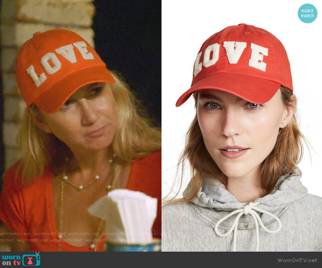 Love Cap by Tory Sport worn by Kary Brittingham  on The Real Housewives of Dallas
