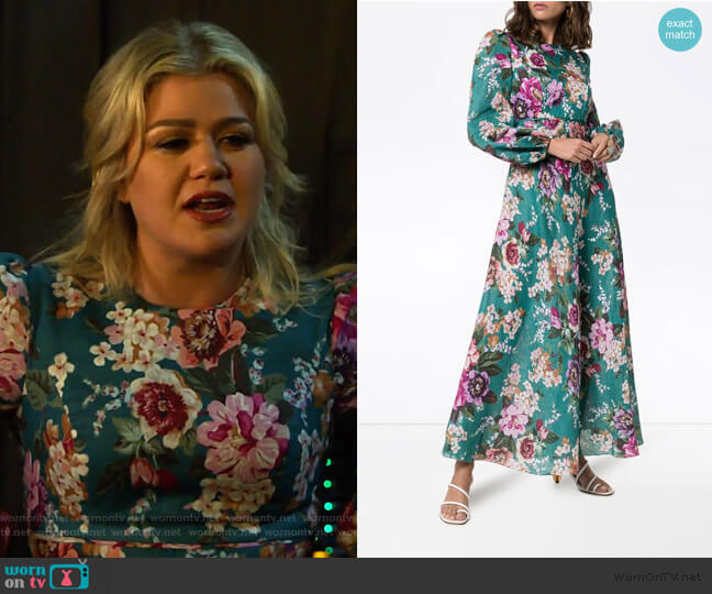 Allia Dress by Zimmermann worn by Kelly Clarkson  on The Kelly Clarkson Show