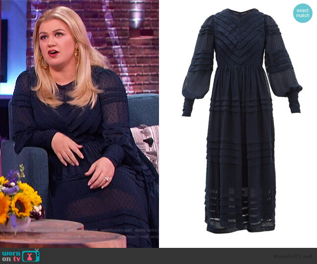 Sabotage Dress by Zimmermann worn by Kelly Clarkson  on The Kelly Clarkson Show