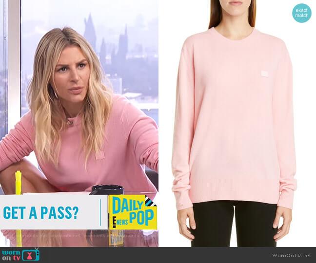 Nalon Sweater by Acne Studios worn by Morgan Stewart  on E! News