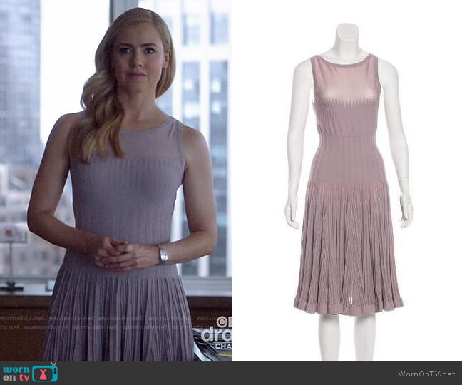 Alaia Knit Dress worn by Katrina Bennett (Amanda Schull) on Suits