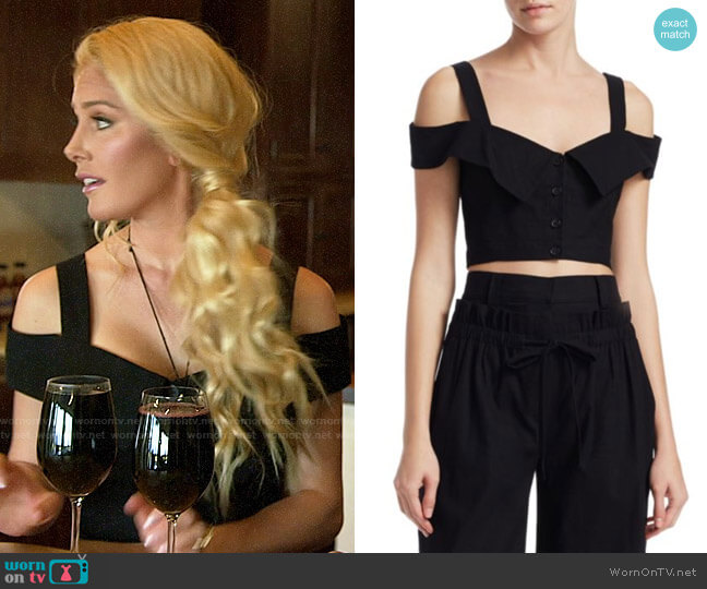 ALC Blake Top worn by Heidi Montag  on The Hills New Beginnings