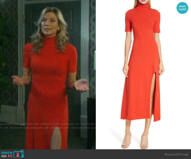 A.L.C. Caplan Dress worn by Kristen DiMera (Stacy Haiduk) on Days of our Lives