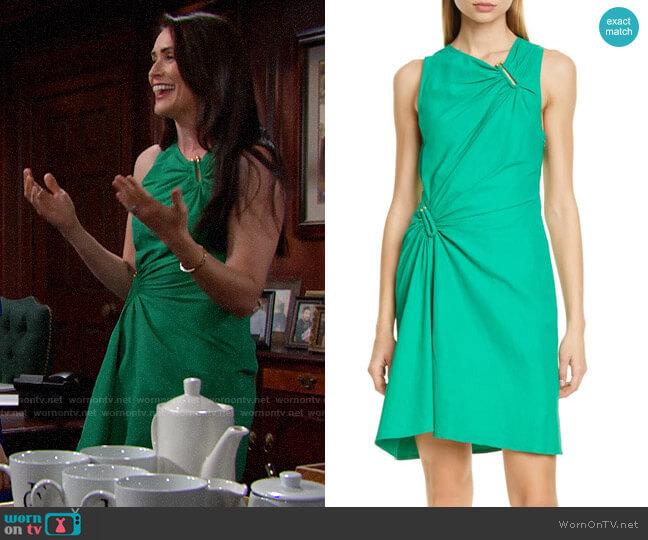 A.L.C. Jina Dress  worn by Quinn Fuller (Rena Sofer) on The Bold & the Beautiful