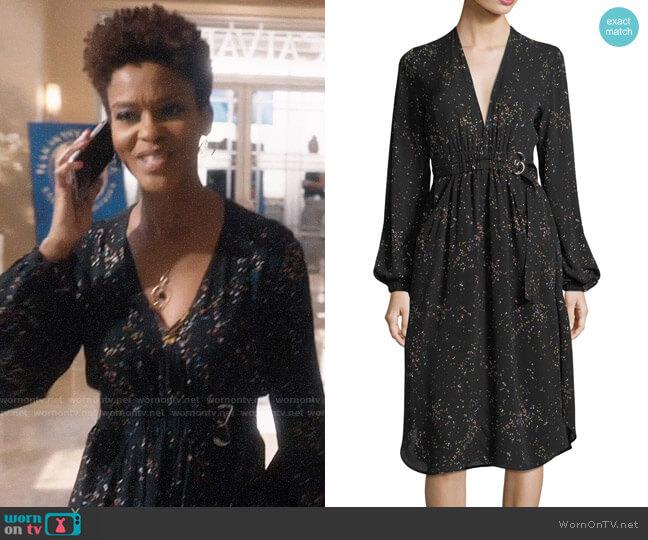 ALC Samantha Dress worn by Kerissa Greenleaf (Kim Hawthorne) on Greenleaf
