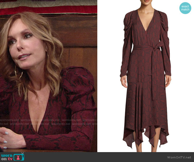 A.L.C. Tianna Dress worn by Lauren Fenmore (Tracey Bregman) on The Young & the Restless
