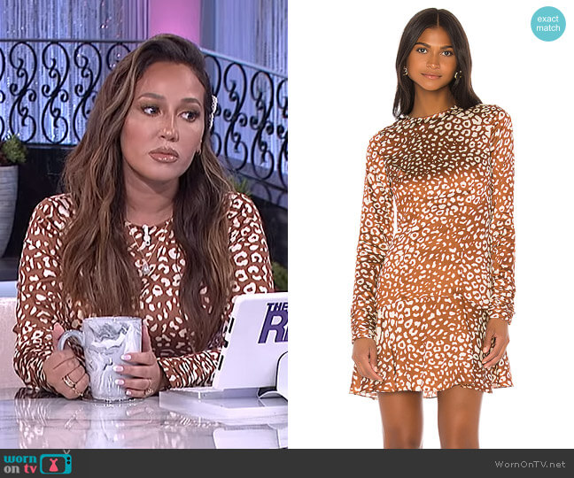 Madhu Dress by Alexis worn by Adrienne Houghton  on The Real