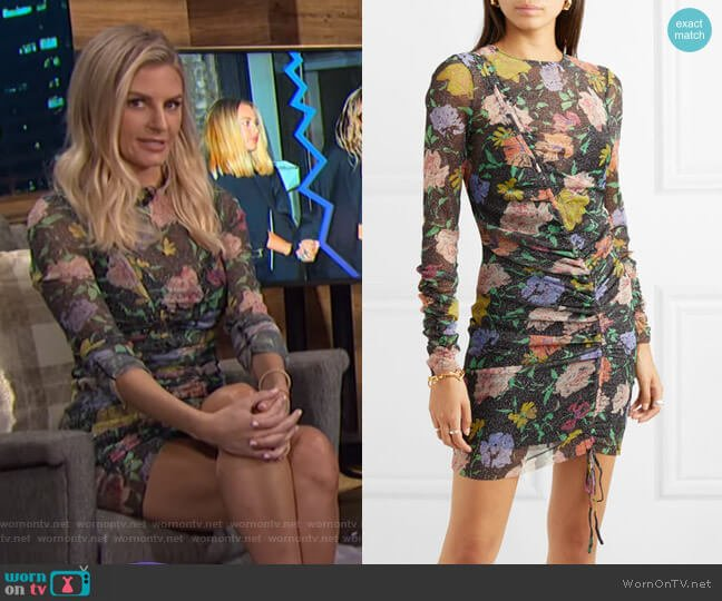 Cosmic Dancer Mini Dress by Alice McCall worn by Morgan Stewart  on E! News
