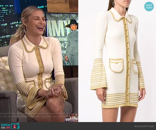 Kashmir Mini Dress by Alice McCall worn by Morgan Stewart  on E! News