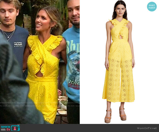 Alice McCall Limonada Jumpsuit worn by Audrina Patridge  on The Hills New Beginnings