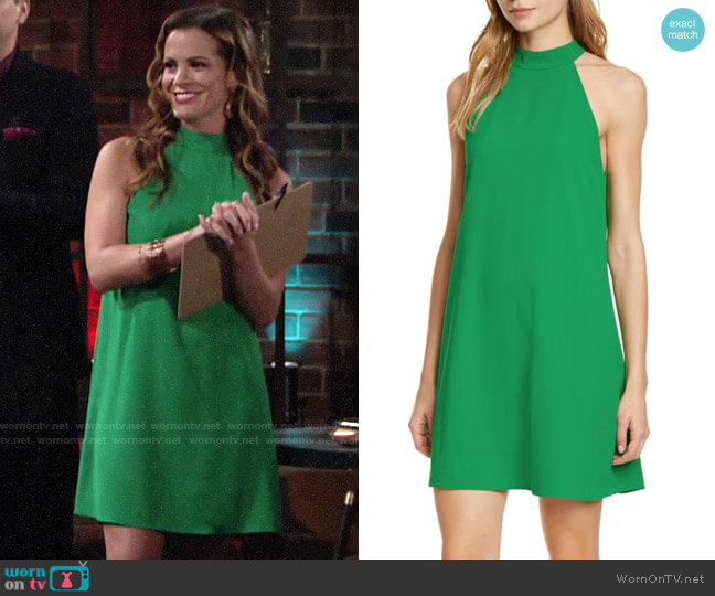 Alice + Olivia Susanna Dress worn by Chelsea Lawson (Melissa Claire Egan) on The Young & the Restless