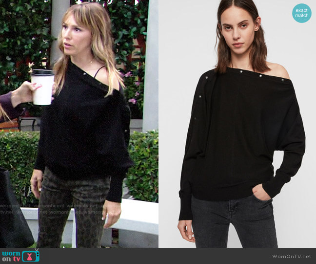 All Saints Elle Sweater worn by Chloe Mitchell (Elizabeth Hendrickson) on The Young & the Restless