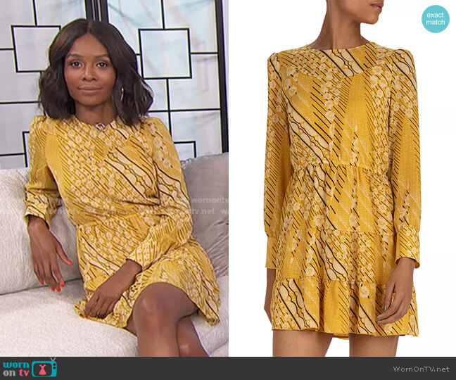 Ophe Dress by Ba&Sh worn by Zuri Hall  on E! News