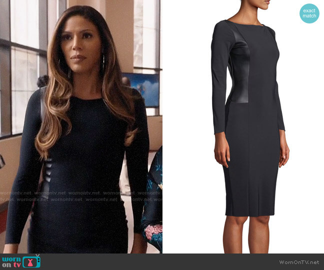 Chiara Boni La Petite Robe Accursia Dress worn by Grace Greenleaf (Merle Dandridge) on Greenleaf
