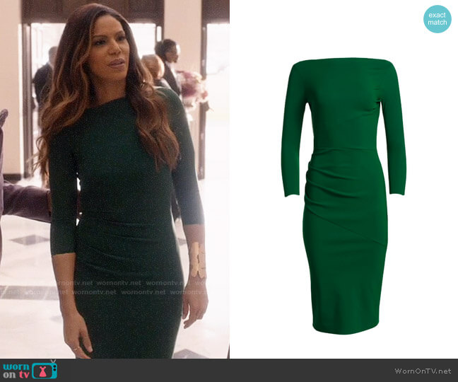 Chiara Boni La Petite Robe Sotera Dress worn by Grace Greenleaf (Merle Dandridge) on Greenleaf
