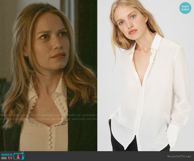 Club Monaco Helek Shirt worn by Keri Allen (Bethany Joy Lenz) on Pearson