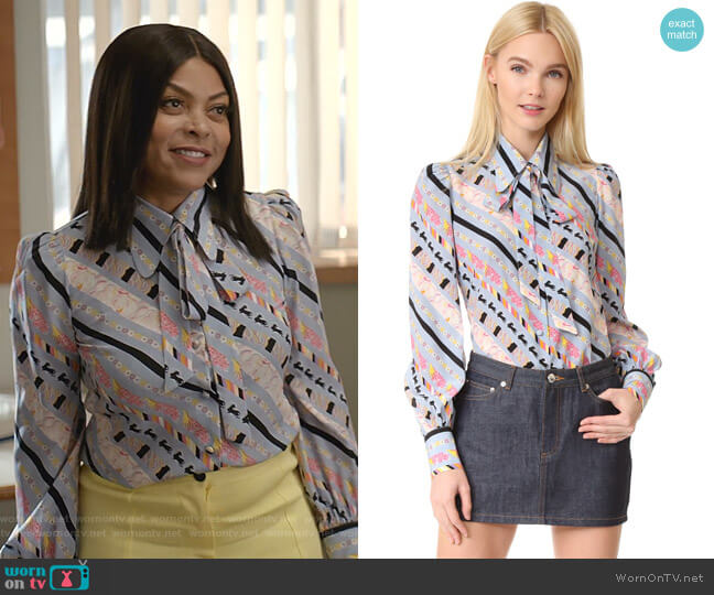 uff Sleeve Button Down by Marc Jacobs worn by Cookie Lyon (Taraji P. Henson) on Empire