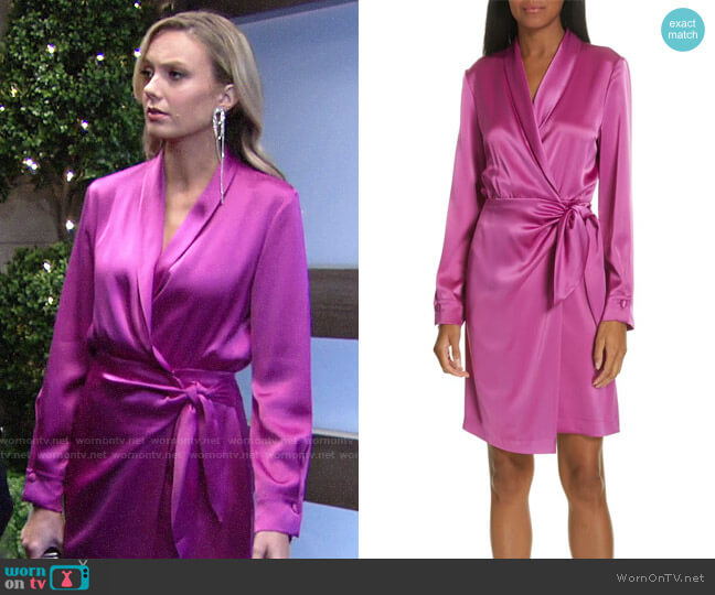 Nanushka Siwa Dress worn by Abby Newman (Melissa Ordway) on The Young & the Restless