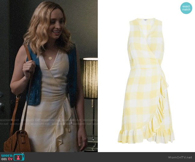 Rails Madison Dress worn by Sherry on Modern Family