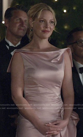 Samantha's light pink gown on Suits