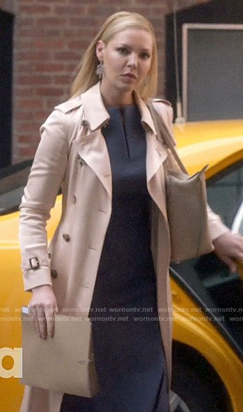 Samantha's trench coat on Suits