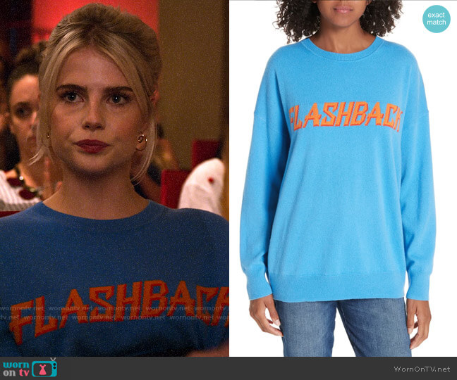 Sandro Flashback Sweater worn by Astrid (Lucy Boynton) on The Politician