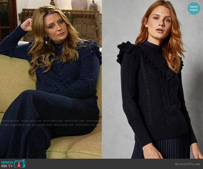 Ted Baker Denita Sweater worn by Mischa Barton  on The Hills New Beginnings
