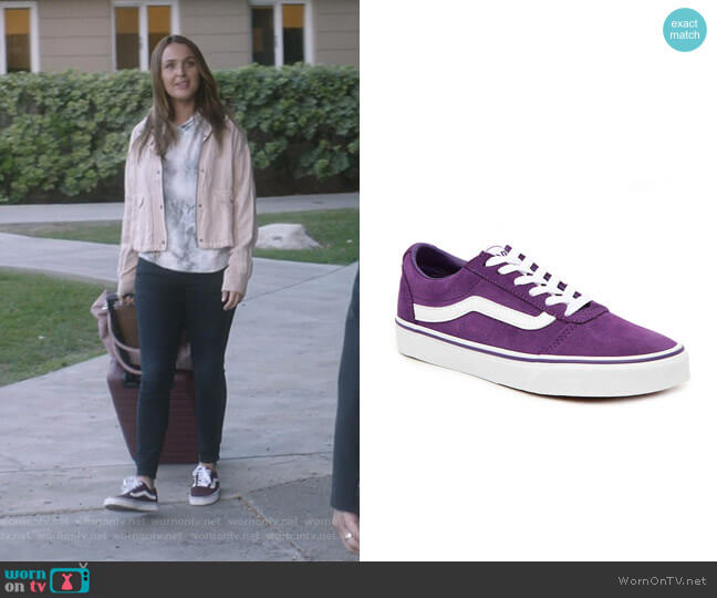Ward Lo Sneaker by Vans worn by Jo Wilson (Camilla Luddington) on Greys Anatomy