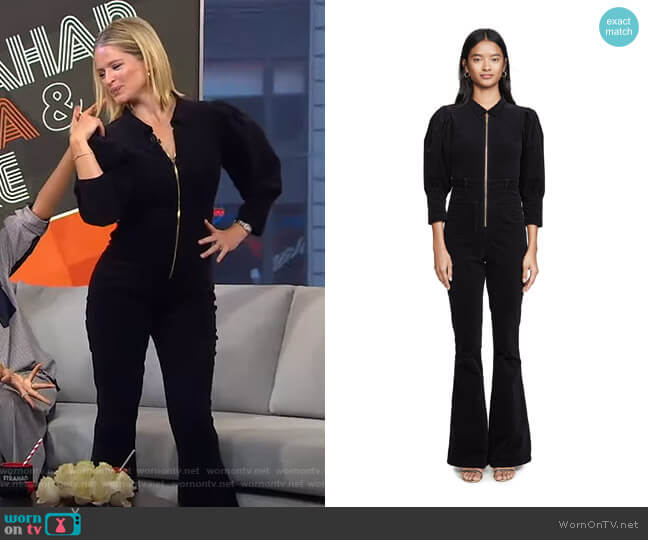 70s Jumpsuit by We Wore What worn by Sara Haines  on Good Morning America