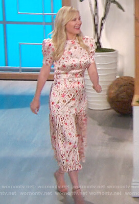 Kirsten Dunst's floral dress on The Talk