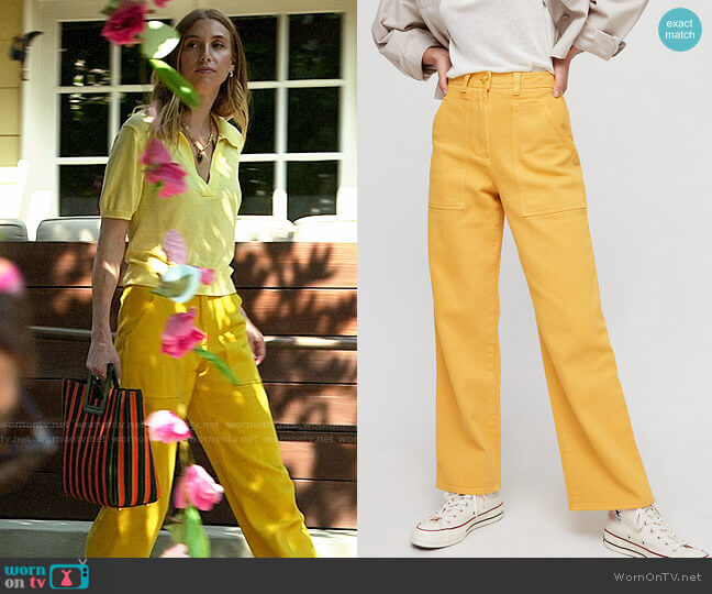 Wilfred Free Modern Utility Pants worn by Whitney Port  on The Hills New Beginnings