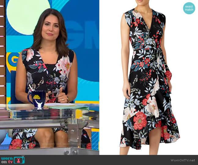 Floral Santorini Dress by Yumi Kim worn by Cecilia Vega  on Good Morning America
