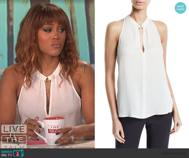 Moran Top by A.L.C. worn by Eve  on The Talk