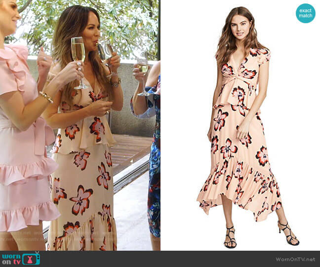 Zadie Dress by A.L.C. worn by Tiffany Hendra on The Real Housewives of Dallas