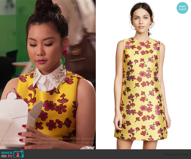Coley Dress by Alice + Olivia worn by Dixie Sinclair (Irene Choi) on Insatiable