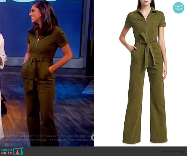 Gorgeous Wide Leg Jumpsuit by Alice + Olivia worn by Abby Huntsman  on The View