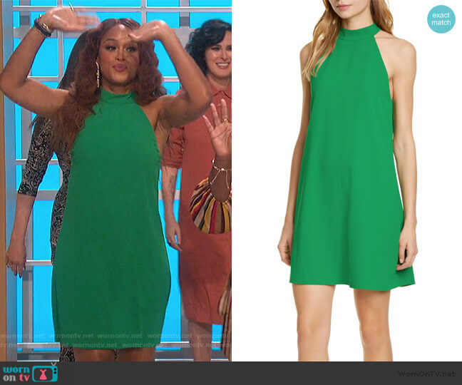 Susanna Swing Dress by Alice + Olivia worn by Eve  on The Talk