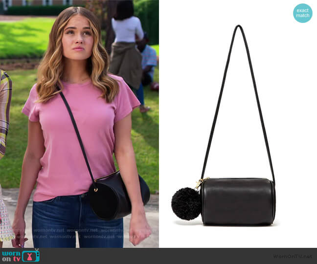 Buddy Cylinder Bag by Ban.Do worn by Patty Bladell (Debby Ryan) on Insatiable
