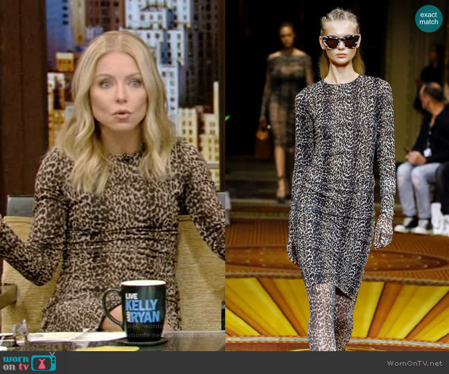 2019 Spring Collection by Christian Siriano worn by Kelly Ripa  on Live with Kelly & Ryan