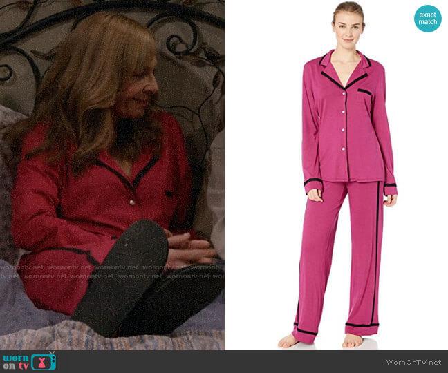 Cosabella Amore Ls Top Pant Pj Set worn by Bonnie Plunkett (Allison Janney) on Mom