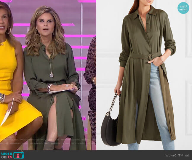 Clarise Shirtdress by Diane von Furstenberg worn by Maria Shriver  on Today