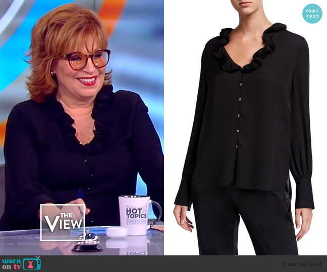 Azra Blouse bv Elie Tahari worn by Joy Behar  on The View
