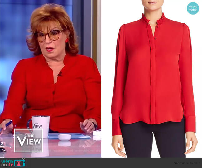 Ciara Silk Blouse Elie Tahari worn by Joy Behar  on The View