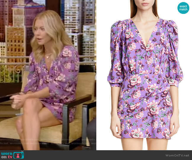 Faro Dress by Magda Butrym worn by Kelly Ripa  on Live with Kelly & Ryan