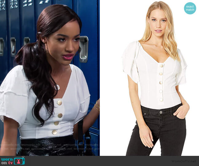 Not Basic Bodysuit by Free People worn by Magnolia Barnard (Erinn Westbrook) on Insatiable