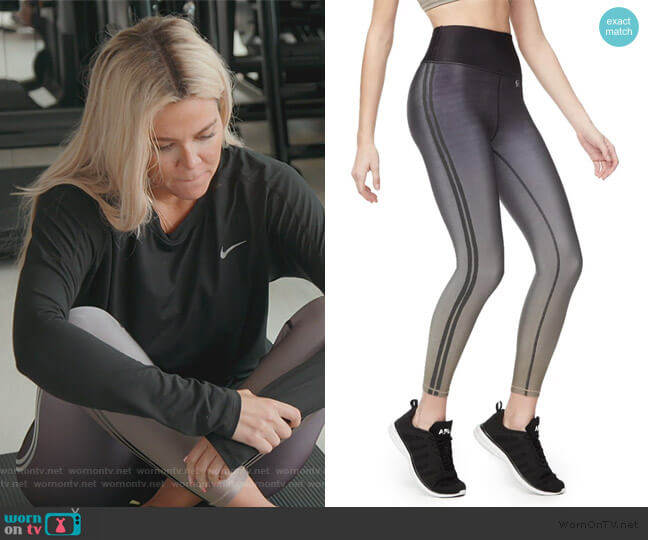 The Core Strength 7/8 Leggings by Good American worn by Khloe Kardashian  on Keeping Up with the Kardashians