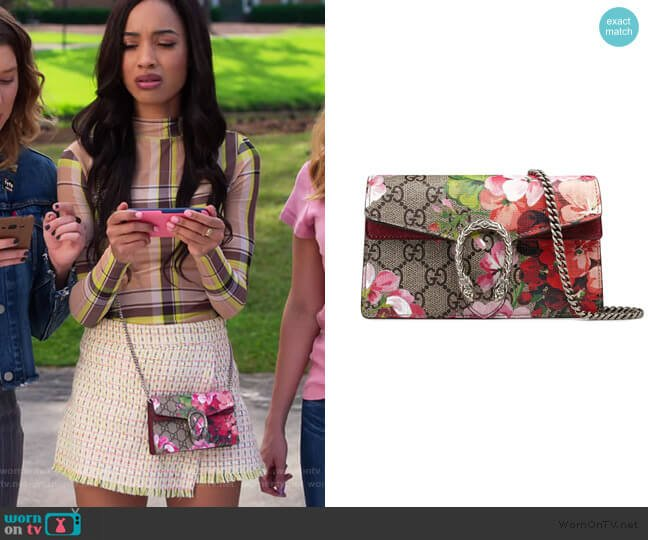 Dionysus GG Blooms Mini Bag by Gucci worn by Magnolia Barnard (Erinn Westbrook) on Insatiable