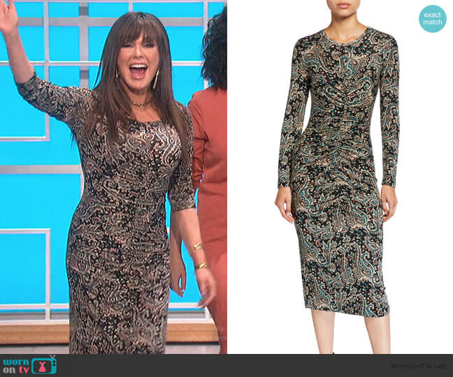 Aja Dress by Joie worn by Marie Osmond  on The Talk