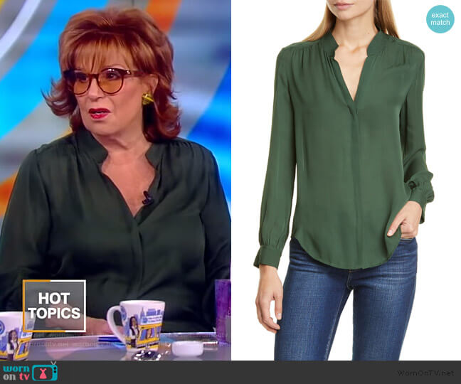 Bianca Blouse by L'Agence worn by Joy Behar  on The View